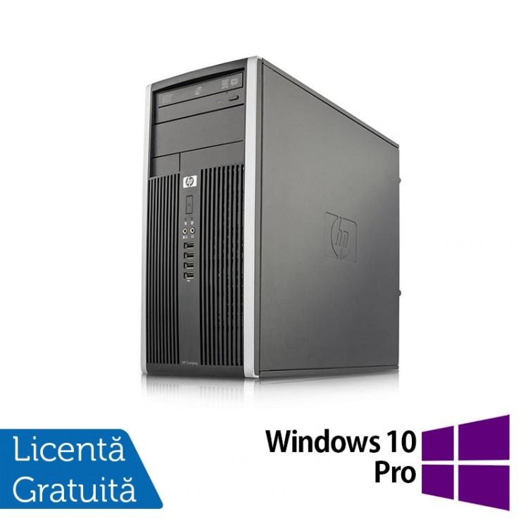 Calculator HP 6000 Tower, Intel Pentium E5500 2.80GHz, 4GB DDR3, 250GB SATA, DVD-RW + Windows 10 Pro