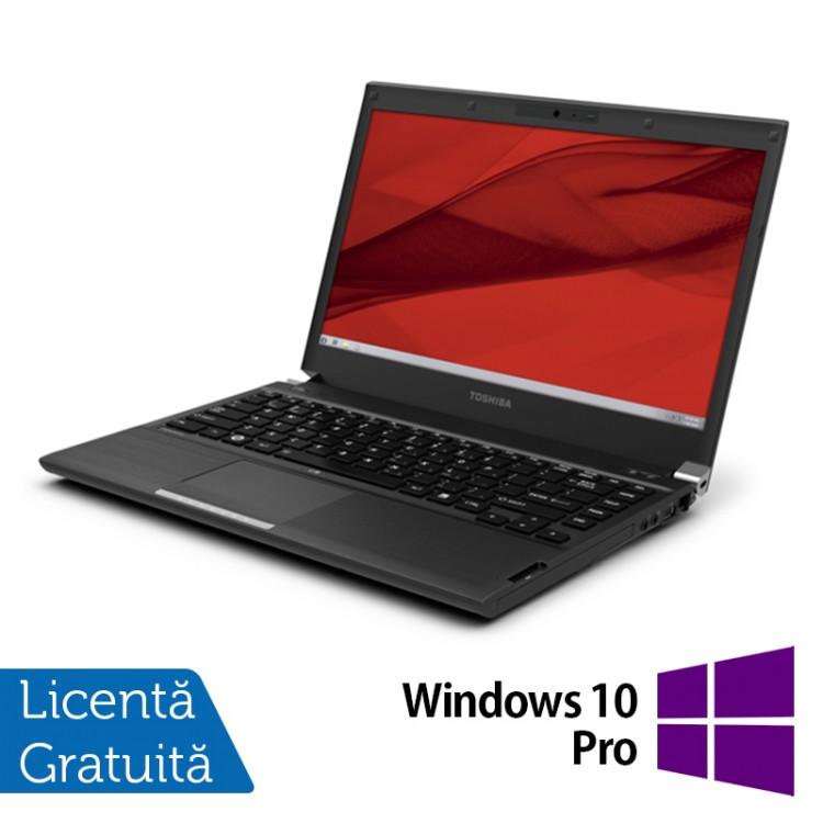 Laptop Toshiba Portege R940, Intel Core i5-3340M 2.70GHz, 4GB DDR3, 320GB SATA, DVD-RW, 13.3 Inch + Windows 10 Pro