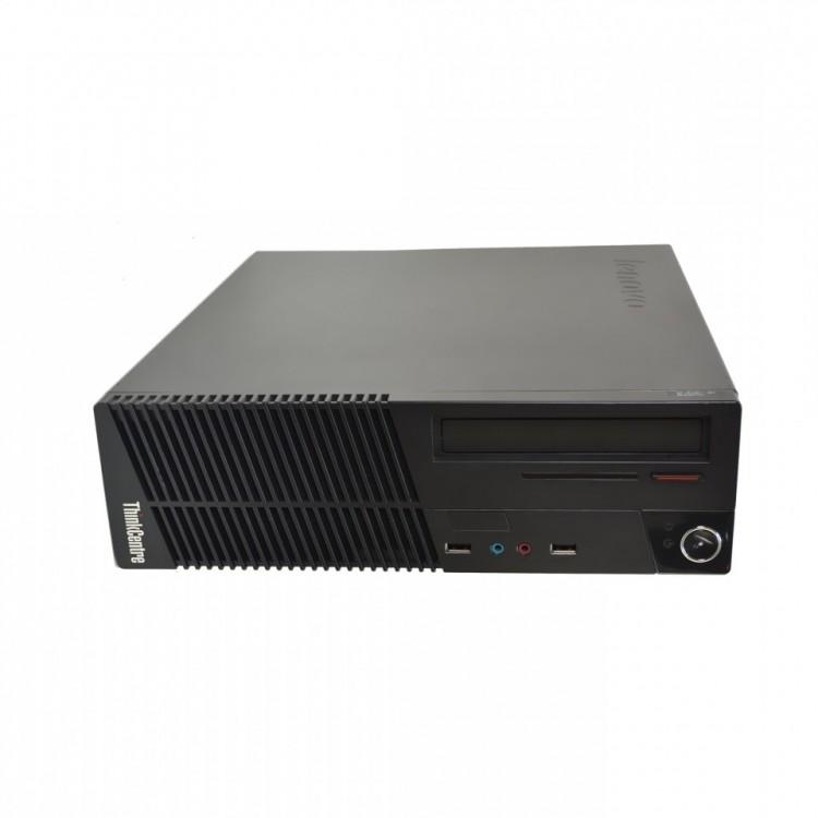 Calculator Lenovo ThinkCentre M71e SFF, Intel Core i3-2100 3.10GHz, 4GB DDR3, 250GB SATA, DVD-RW