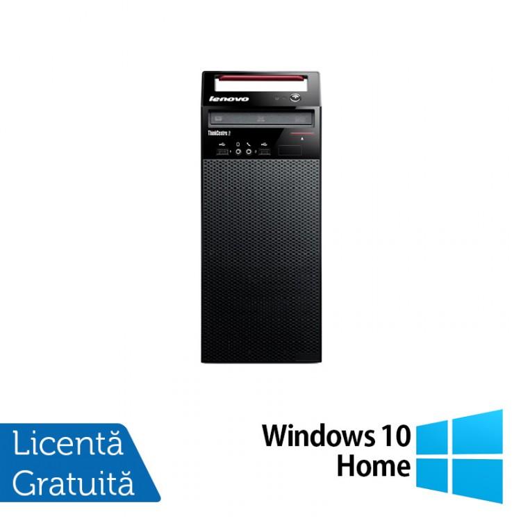 Calculator Lenovo Edge72 Tower, Intel Core i3-3220 3.30GHz, 4GB DDR3, 500GB SATA, DVD-RW + Windows 10 Home