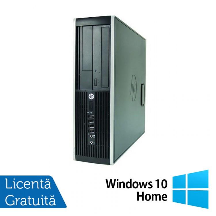 Computer HP Compaq Elite 8000 SFF, Intel Core 2 Duo E7500 2.93GHz, 2GB DDR3, 250GB SATA, DVD-RW + Windows 10 Home