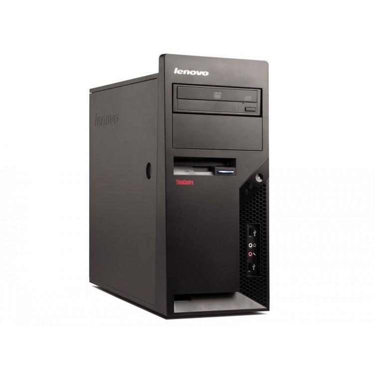Calculator Lenovo Thinkcentre M58p Tower, Intel Pentium E5400 2.60GHz, 2GB DDR3, 160GB SATA, DVD-ROM