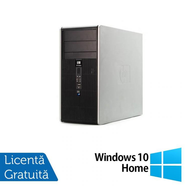 Calculator HP DC5700 Tower, Intel Core 2 Duo E4600, 4GB DDR2, 250GB SATA, DVD-ROM + Windows 10 Home