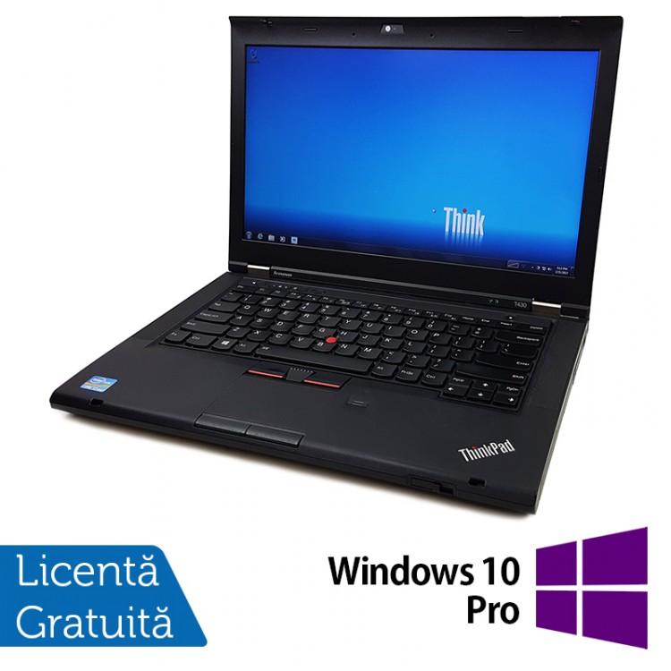 Laptop LENOVO ThinkPad T430, Intel Core i5-3320M 2.60GHz, 8GB DDR3, 320GB SATA, DVD-RW + Windows 10 Pro