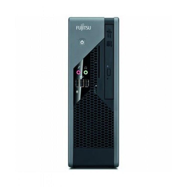 Calculator Fujitsu Siemens C5731 USFF, Intel Core 2 Duo E8400 3.00GHz, 4GB DDR3, 80GB SATA, 2x Serial, DVD-ROM