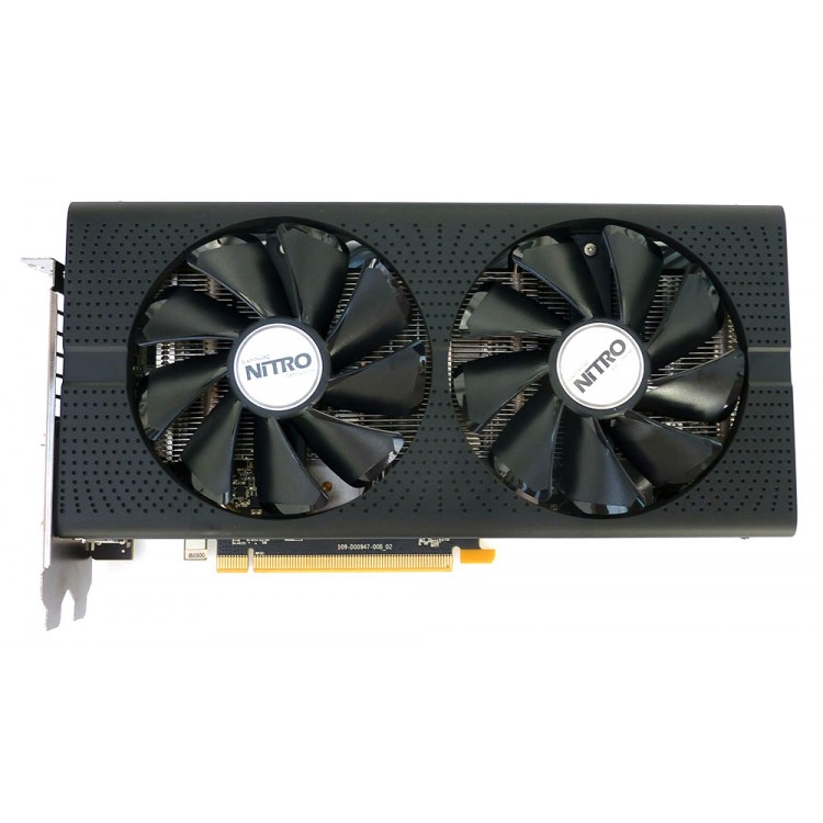 Placa video Sapphire Radeon RX 480 Nitro OC, 8GB GDDR5, HDMI, Display Port, DVI, 256 Biti