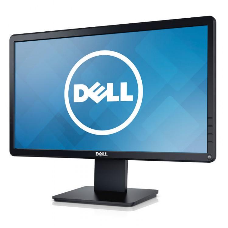 Monitor DELL E2014HF LCD, 20 Inch, 1600 x 900, DVI, VGA, Grad B