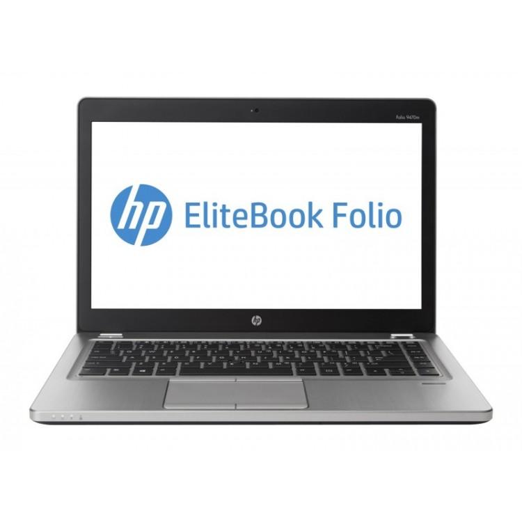 Laptop HP EliteBook Folio 9470M, Intel Core i7-2687U 2.10GHz, 8GB DDR3, 120GB SSD, Webcam, 14 Inch