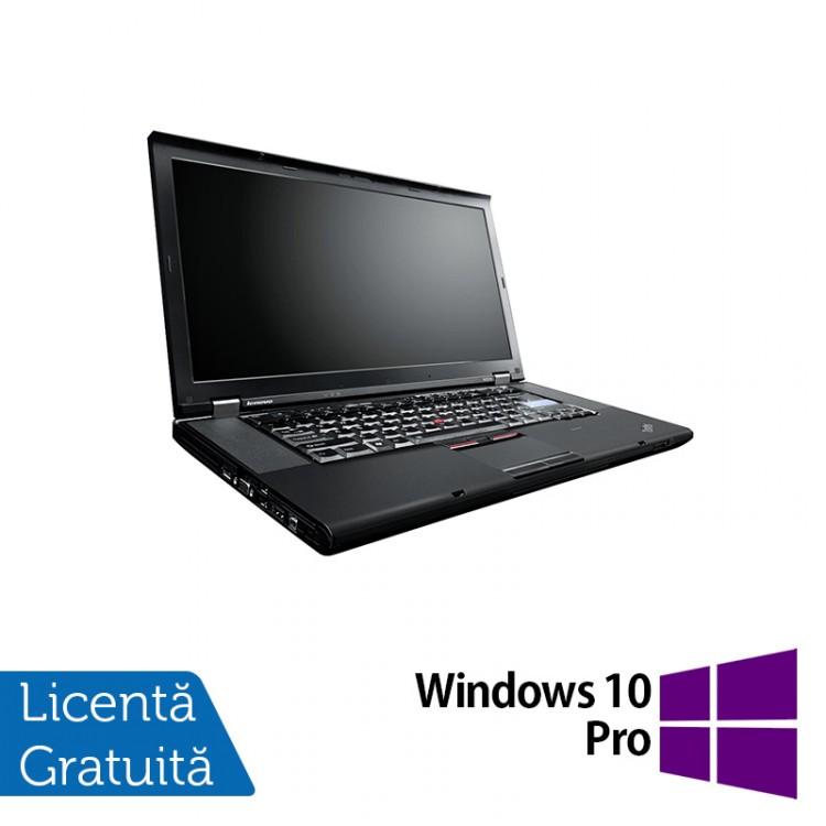 Laptop Lenovo ThinkPad W520, Intel Core i7-2860QM 2.50GHz, 8GB DDR3, 320GB SATA, Nvidia Quadro 1000 2GB, Webcam, 15.6 Inch + Windows 10 Pro