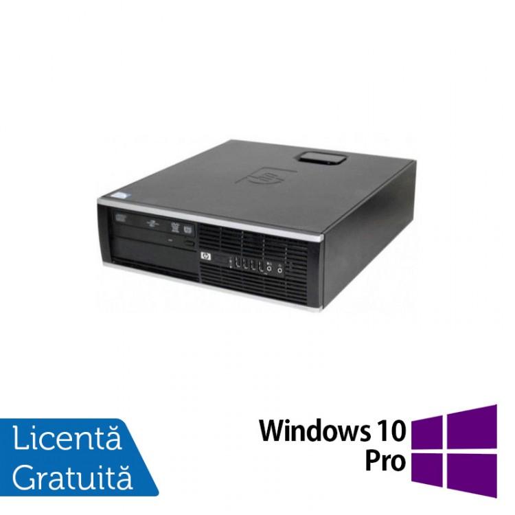 Calculator HP 6000 Pro Desktop, Intel Celeron E3300 2.50GHz, 4GB DDR3, 250GB SATA, DVD-ROM + Windows 10 Pro
