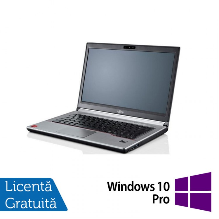 Laptop Fujitsu LIFEBOOK E743, Intel Core i7-3632QM 2.20GHz, 16GB DDR3, 240GB SSD, 14 Inch + Windows 10 Pro