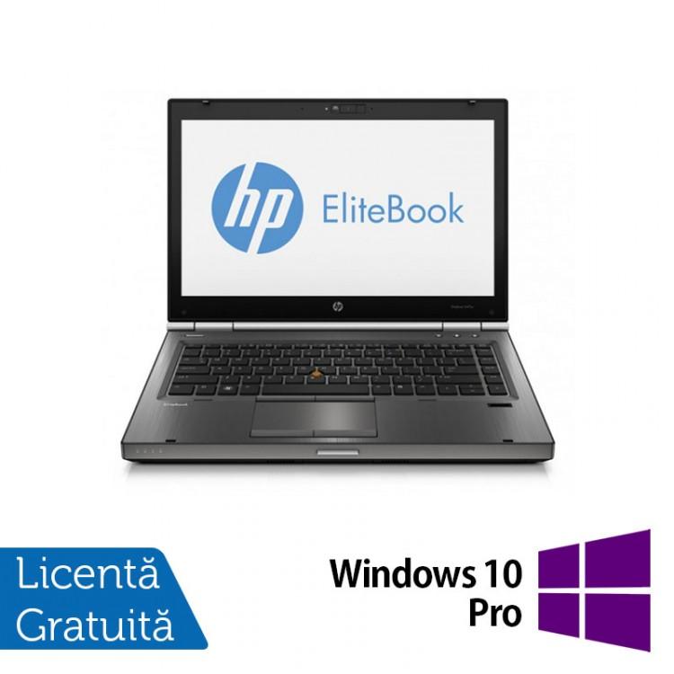 Laptop Refurbished HP EliteBook 8470p, Intel Core i5-3210M 2.50 GHz, 16GB DDR3, 500GB SATA, DVD-RW, 14 inch LED + Windows 10 Pro