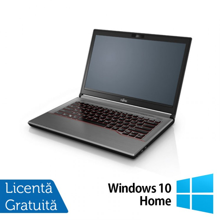 Laptop Fujitsu Lifebook E744, Intel Core i7-4702MQ 2.20GHz, 16GB DDR3, 320GB SATA, 14 Inch + Windows 10 Home
