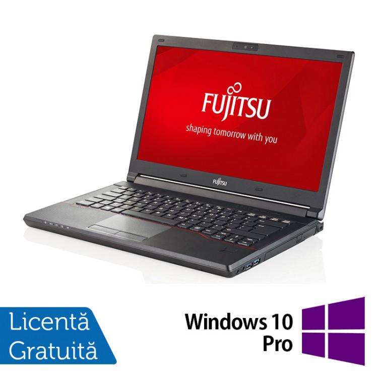 Laptop FUJITSU SIEMENS Lifebook E544, Intel Core i5-4210M 2.60GHz, 16GB DDR3, 120GB SSD, 14 Inch + Windows 10 Pro
