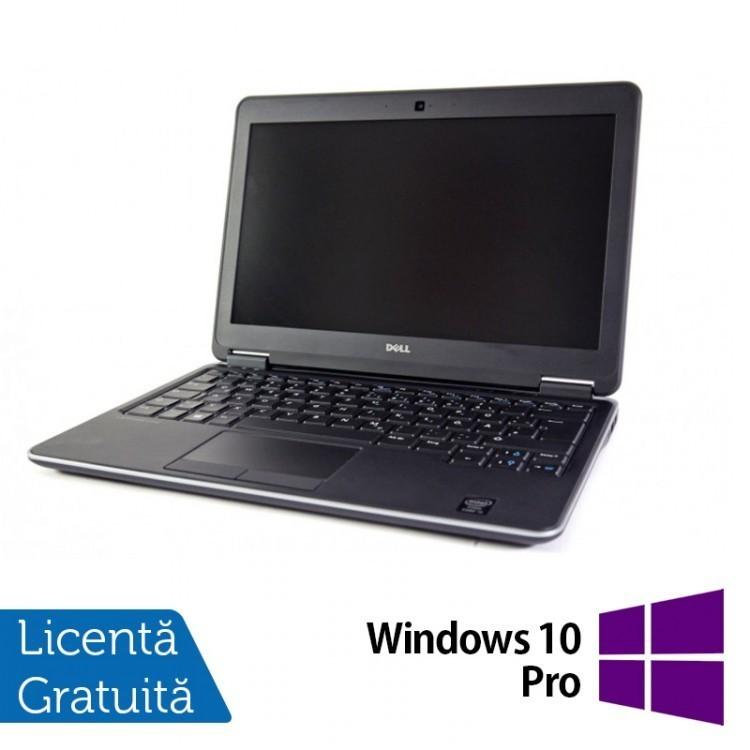 Laptop DELL Latitude E7240, Intel Core i7-4600U 2.10 GHz, 16GB DDR3, 120GB SSD + Windows 10 Pro
