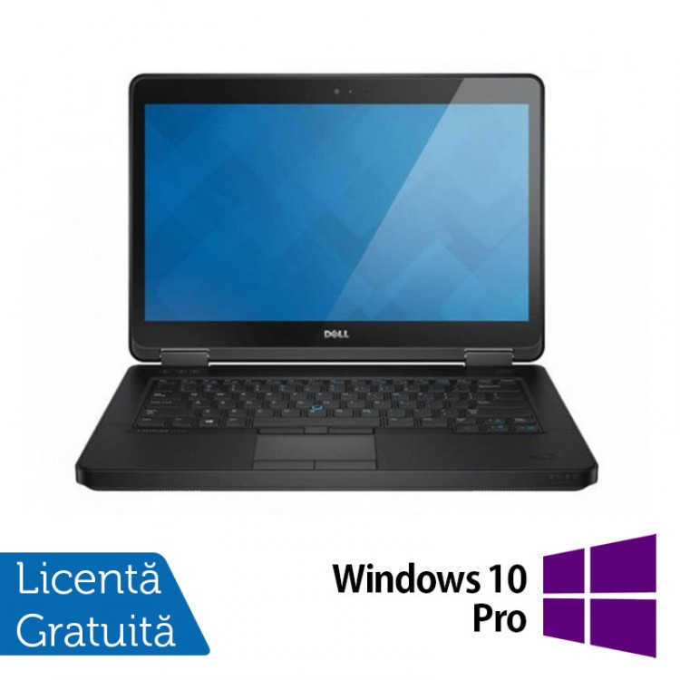 Laptop DELL Latitude E5440, Intel Core i5-4300U 1.90GHz, 16GB DDR3, 240GB SSD, 14 Inch + Windows 10 Pro