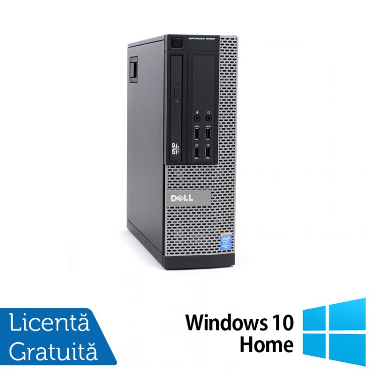 Calculator DELL OptiPlex 9020 SFF, Intel Core i5-4570 3.20GHz, 8GB DDR3, 500GB SATA, DVD-RW + Windows 10 Home