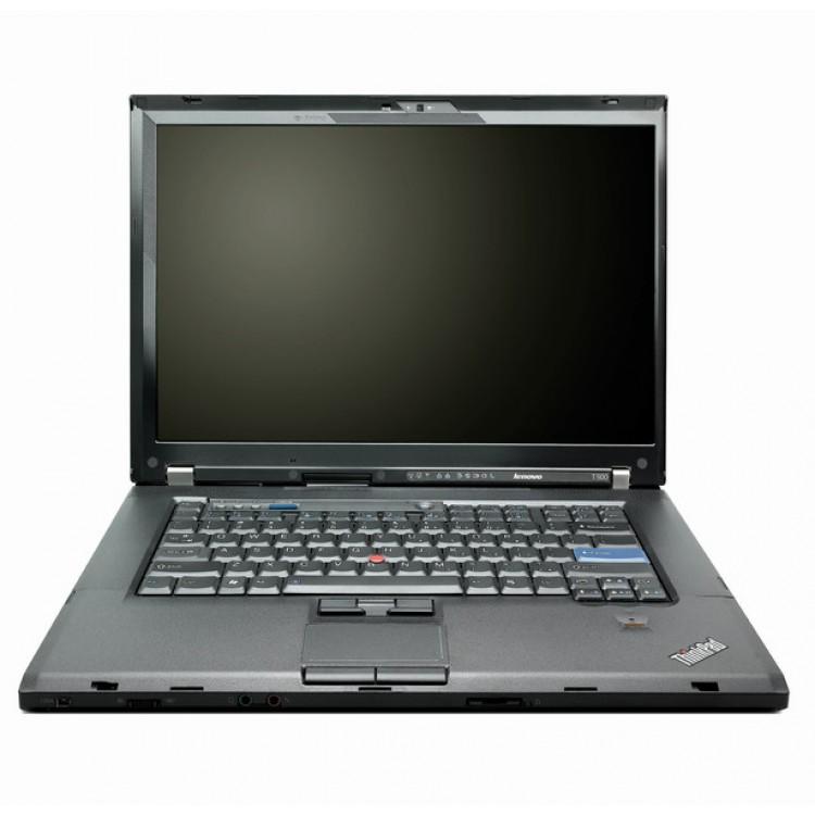 Laptop Lenovo ThinkPad T500, Intel Core 2 Duo T9600 2.80GHz, 3GB DDR3, 160GB SATA, DVD-RW, 15.4 Inch