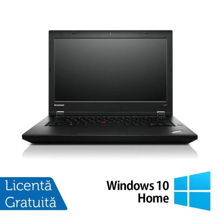 Laptop LENOVO ThinkPad L440, Intel Celeron 2950M 2.00GHz, 8GB DDR3, 320GB SATA, 14 Inch + Windows 10 Home
