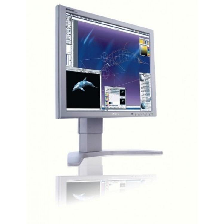 Monitor LCD Philips Brilliance 190P7, 19 inch, 8 ms, VGA, DVI, USB